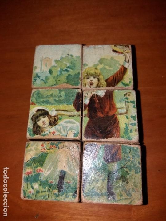 Puzzles: Puzzle antiguo de cubos - Foto 4 - 146676710