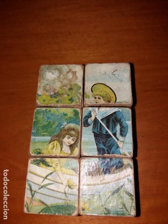 Puzzles: Puzzle antiguo de cubos - Foto 5 - 146676710