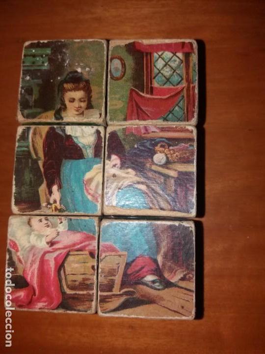 Puzzles: Puzzle antiguo de cubos - Foto 6 - 146676710