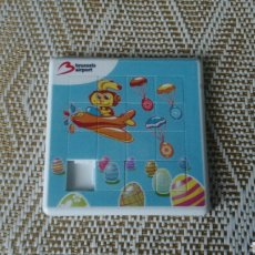 Puzzles: ROMPECABEZAS PUZZLE PUBLICIDAD BRUSSELS AIRPORT. Lote 148649225