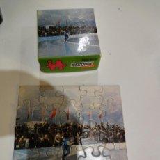 Puzzles: MINI PUZZLE NESQUIK. EDUCA. AÑOS 70. PATINAJE SOBRE HIELO. Lote 148976630