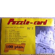 Puzzles: PUZZLE-CARD. COLECCIÓN A. VALLADOLID Nº 1. LA CATEDRAL. Lote 46749144