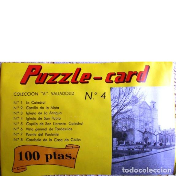PUZZLE-CARD. COLECCIÓN A. VALLADOLID Nº 4. IGLESIA DE SAN PABLO (Juguetes - Juegos - Puzles)