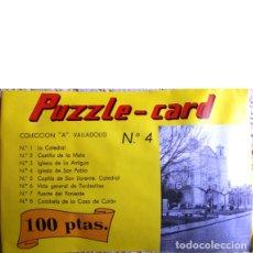 Puzzles: PUZZLE-CARD. COLECCIÓN A. VALLADOLID Nº 4. IGLESIA DE SAN PABLO. Lote 46749259