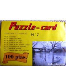 Puzzles: PUZZLE-CARD. COLECCIÓN A. VALLADOLID Nº 7. PUENTE DEL PONIENTE. Lote 46749271