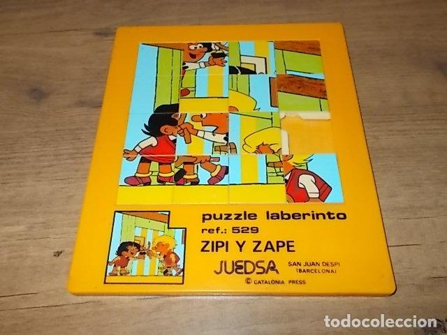 MARAVILLSO PUZZLE LABERINTO DE ZIPI ZAPE. JUEDSA. CATALONIA PRESS. AÑOS 70-80. UNA JOYA!!!! (Juguetes - Juegos - Puzles)