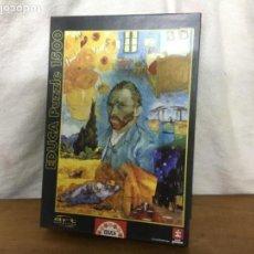 Puzzles: PUZZLE 1500 PIEZAS MUNDO VAN GOGH. Lote 145161694