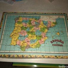 Puzzles: ANTIGUO PUZZLE - ROMPECABEZAS ESPAÑA Y PORTUGAL. Lote 149641704