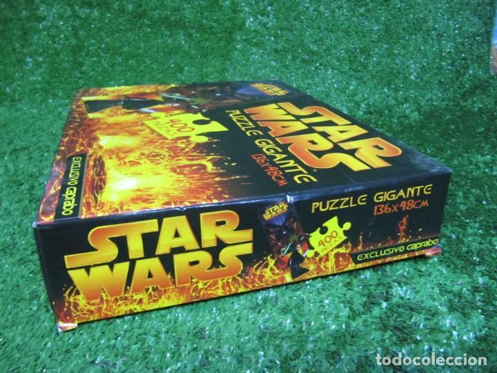 Puzzles: PUZZLE GIGANTE 400 piezas STAR WARS 136 X 48 CM AÑO 2005 EXCUSIVO CAPRABO - Foto 2 - 149819626