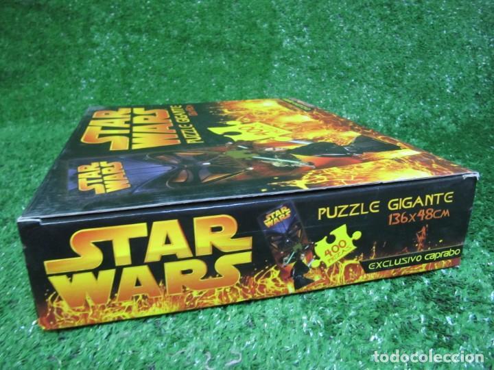 Puzzles: PUZZLE GIGANTE 400 piezas STAR WARS 136 X 48 CM AÑO 2005 EXCUSIVO CAPRABO - Foto 3 - 149819626