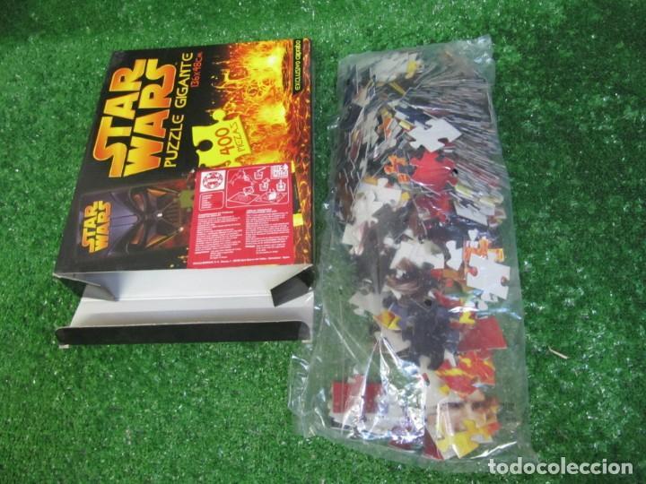 Puzzles: PUZZLE GIGANTE 400 piezas STAR WARS 136 X 48 CM AÑO 2005 EXCUSIVO CAPRABO - Foto 4 - 149819626