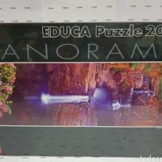 Puzzli: PUZZLE EDUCA PANORAMA 2000 PIEZAS. CASCADAS MITCHEL, AUSTRALIA. PRECINTADO. Lote 149878349