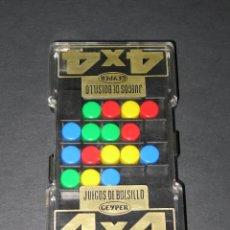 Puzzles: GEYPER - JUEGOS DE BOLSILLO - 4X4 - '80S.. Lote 149879926