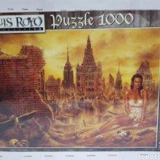 Puzzli: PUZZLE EDUCA 1000 PIEZAS. MUÑECAS, LUIS ROYO. PRECINTADO. Lote 205654303