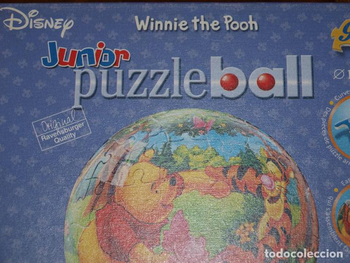Puzzles: PUZZLE BALL JUNIOR. WINNIE THE POOH. 96 PIEZAS. RAVENSBURGER. 12 CM DIAMETRO. VER FOTOS Y DESCRIPCIO - Foto 2 - 149911854