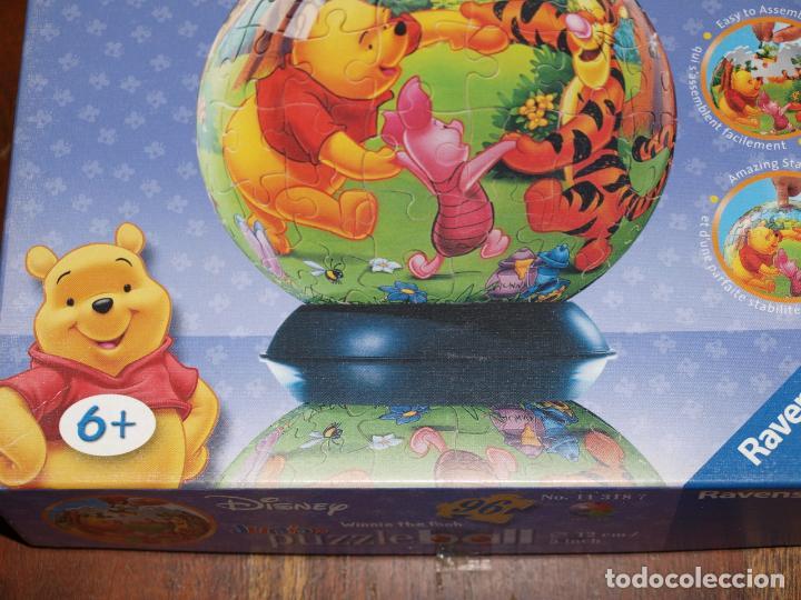 Puzzles: PUZZLE BALL JUNIOR. WINNIE THE POOH. 96 PIEZAS. RAVENSBURGER. 12 CM DIAMETRO. VER FOTOS Y DESCRIPCIO - Foto 3 - 149911854