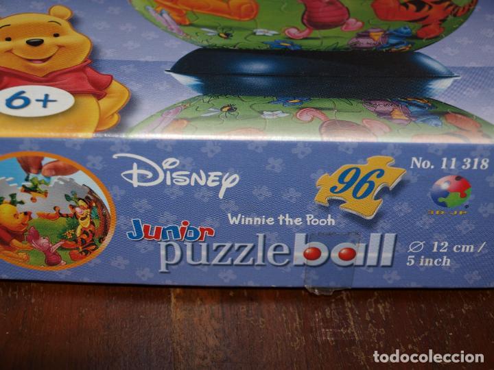 Puzzles: PUZZLE BALL JUNIOR. WINNIE THE POOH. 96 PIEZAS. RAVENSBURGER. 12 CM DIAMETRO. VER FOTOS Y DESCRIPCIO - Foto 4 - 149911854