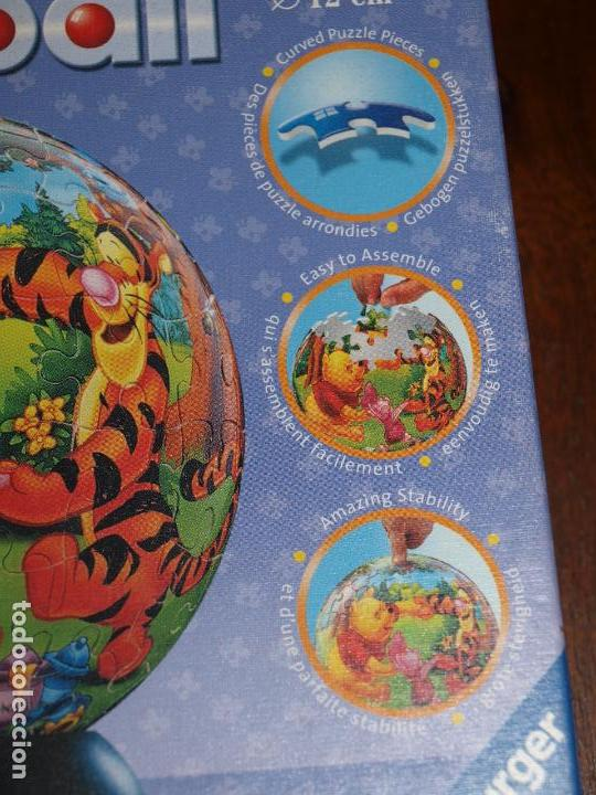 Puzzles: PUZZLE BALL JUNIOR. WINNIE THE POOH. 96 PIEZAS. RAVENSBURGER. 12 CM DIAMETRO. VER FOTOS Y DESCRIPCIO - Foto 5 - 149911854