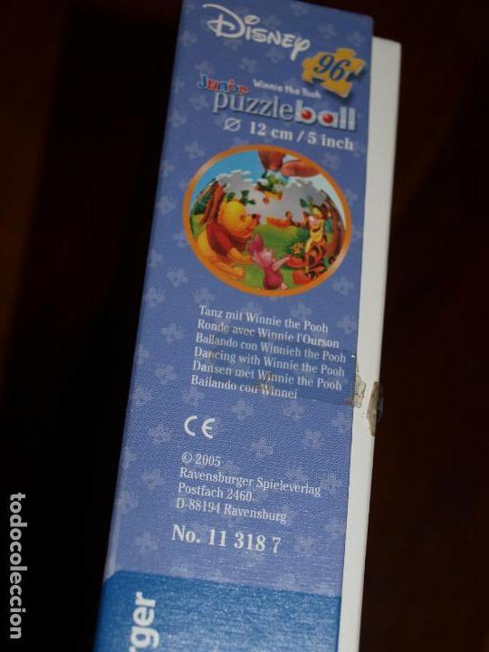 Puzzles: PUZZLE BALL JUNIOR. WINNIE THE POOH. 96 PIEZAS. RAVENSBURGER. 12 CM DIAMETRO. VER FOTOS Y DESCRIPCIO - Foto 15 - 149911854