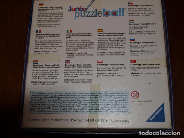 Puzzles: PUZZLE BALL JUNIOR. WINNIE THE POOH. 96 PIEZAS. RAVENSBURGER. 12 CM DIAMETRO. VER FOTOS Y DESCRIPCIO - Foto 18 - 149911854