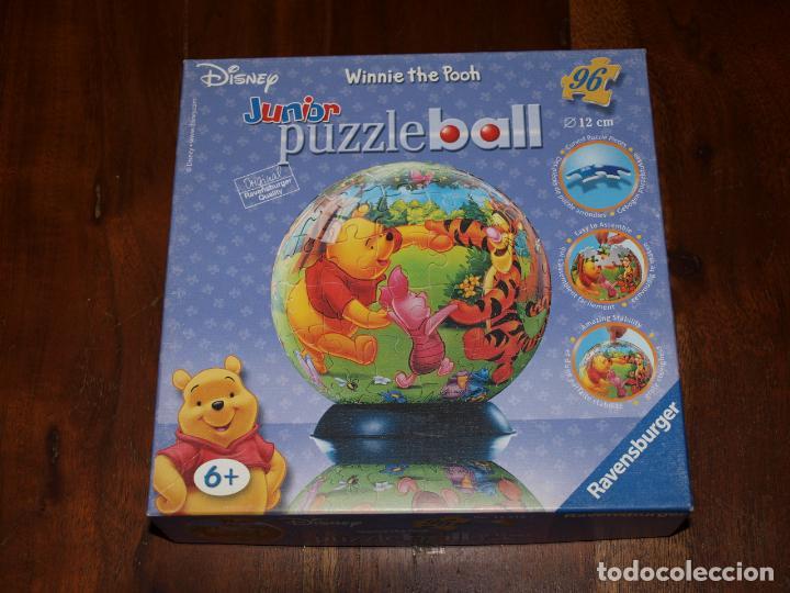 Puzzles: PUZZLE BALL JUNIOR. WINNIE THE POOH. 96 PIEZAS. RAVENSBURGER. 12 CM DIAMETRO. VER FOTOS Y DESCRIPCIO - Foto 20 - 149911854