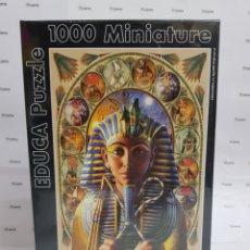 Puzzles: PUZZLE EDUCA 1000 PIEZAS. TUTANKAMON . PRECINTADO. Lote 186336158