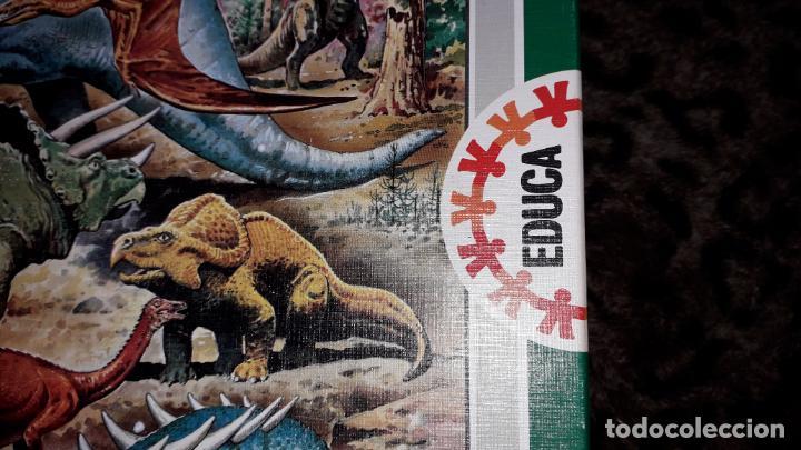 Puzzles: EDUCA PUZZLE DINOSAURS 100 PÌEZAS, PUZZLE ANTIGUO , JUGUETE ANTIGUO - Foto 2 - 150583630