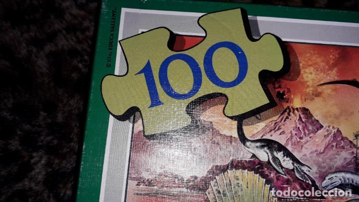 Puzzles: EDUCA PUZZLE DINOSAURS 100 PÌEZAS, PUZZLE ANTIGUO , JUGUETE ANTIGUO - Foto 3 - 150583630