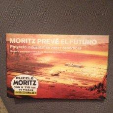 Puzzles: MORITZ PUZZLE PREVE EL FUTURO PROYECTO INDUSTRIAL EN ZONAS DESERTICAS . Lote 150623630