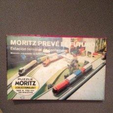 Puzzles: MORITZ PUZZLE PREVE EL FUTURO ESTACION TERMINAL DE CONTAINERS. Lote 150623742