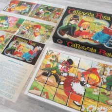 Puzzles: ANTIGUO ROMPECABEZAS CAPERUCITA ROJA - COMPLETO. Lote 150727982