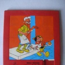 Puzzles: PUZZLE LABERINTO ROMPECABEZAS PINOCHO DEL FILM DE WALT DISNEY (ANDREFER). 20 CM. PUZLE.. Lote 150916034