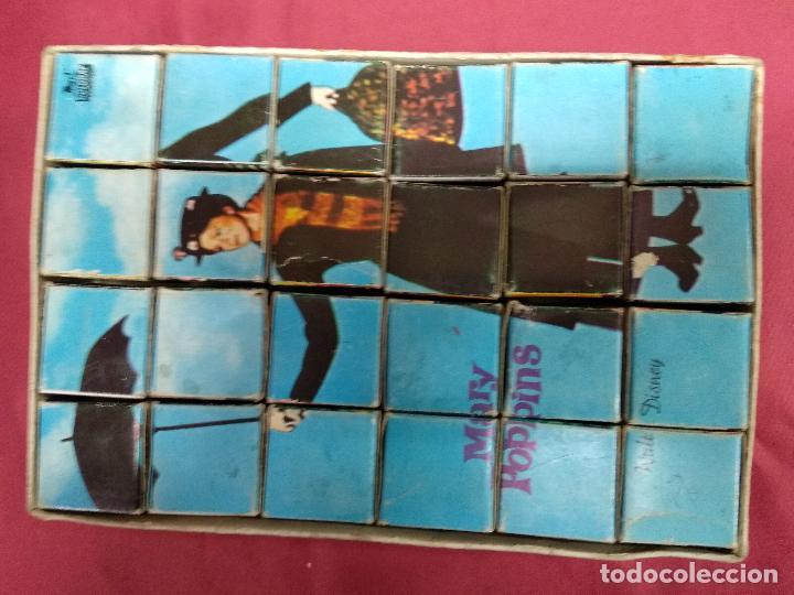Puzzles: PUZZLE EN CUBOS. MARY POPPINS. WALT DISNEY. EDIGRAF - Foto 2 - 151279558