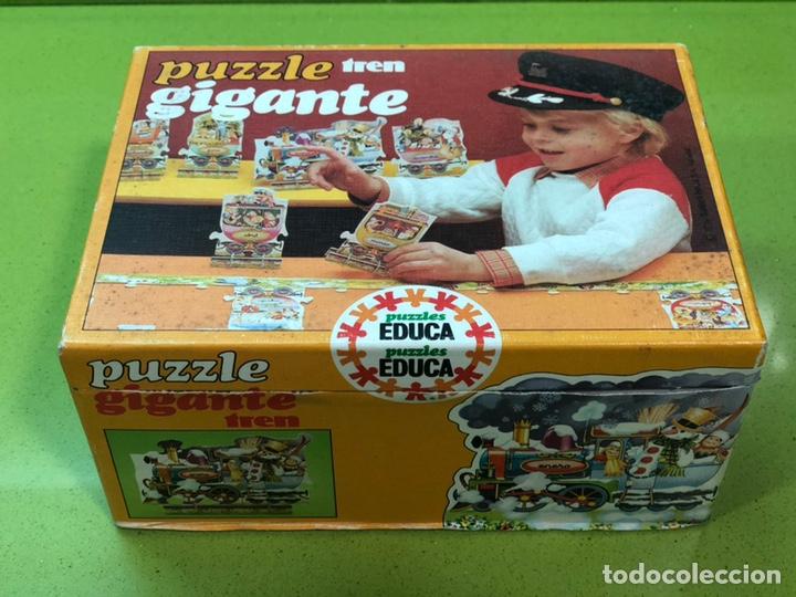 Puzzles: Puzzle tren gigante educa 82 sin usar clementoni cefa ravesburguer diset djeco heye hasbro Feber - Foto 2 - 104099534