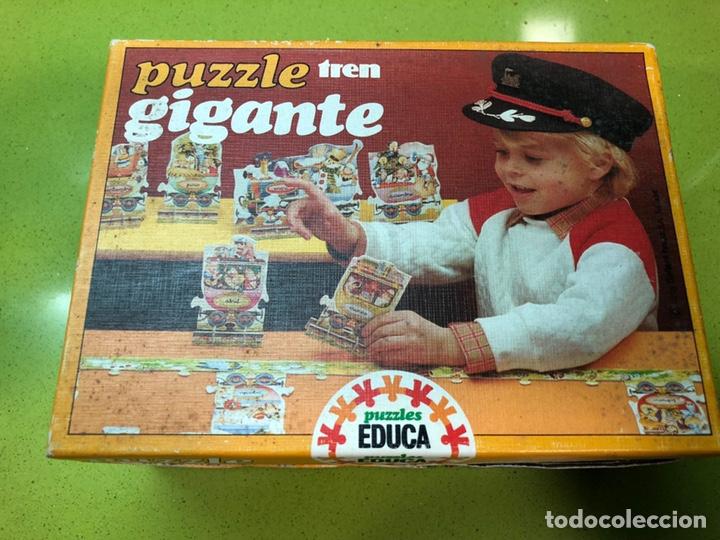 Puzzles: Puzzle tren gigante educa 82 sin usar clementoni cefa ravesburguer diset djeco heye hasbro Feber - Foto 3 - 104099534