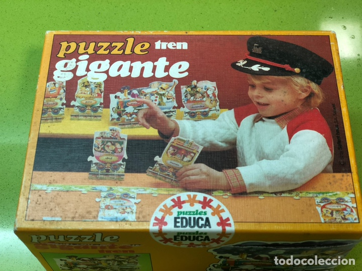Puzzles: Puzzle tren gigante educa 82 sin usar clementoni cefa ravesburguer diset djeco heye hasbro Feber - Foto 4 - 104099534