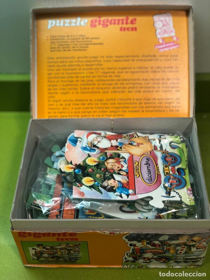 Puzzles: Puzzle tren gigante educa 82 sin usar clementoni cefa ravesburguer diset djeco heye hasbro Feber - Foto 6 - 104099534