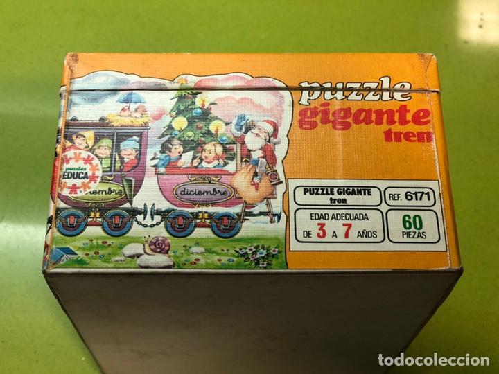 Puzzles: Puzzle tren gigante educa 82 sin usar clementoni cefa ravesburguer diset djeco heye hasbro Feber - Foto 9 - 104099534