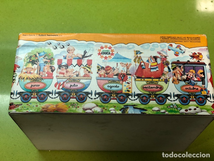 Puzzles: Puzzle tren gigante educa 82 sin usar clementoni cefa ravesburguer diset djeco heye hasbro Feber - Foto 10 - 104099534