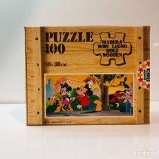 Puzzles: PUZZLE MADERA MICKEY DISNEY EDUCA 83 SIN USAR ANTIGUO. Lote 104104323