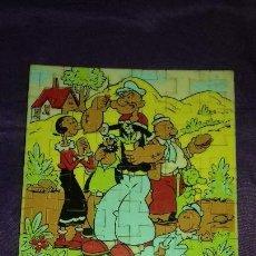 Puzzles: ANTIGUO PUZZLE MODULINE POPEYE Y SU FAMILIA.AÑOS 70-80. Lote 151342070