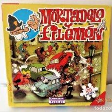 Puzzles: BONITO PUZZLE DE MORATELO Y FILEMÓN 100 PIEZAS DE DINOVA. Lote 151512934