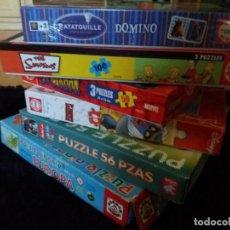 Puzzles: LOTE DE PUZZLES. Lote 152010478