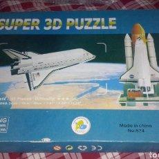 Puzzles: TRANSBORDADOR NAVE ESPACIAL DISCOVERY DE 1984 ~ SUPER PUZZLE 3 DIMENSIONES BASE DESPEGUE CAÑAVERAL.. Lote 152246722