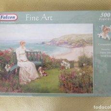 Puzzles: PUZZLE 500PCS FINE ART FALCON. Lote 152914050