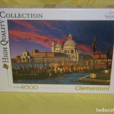Puzzles: PUZZLE 4000 PIEZAS DE CLEMENTONI, SAN MARCO, VENECIA, NUEVO SIN ABRIR.PRECINTADO.. Lote 153644726