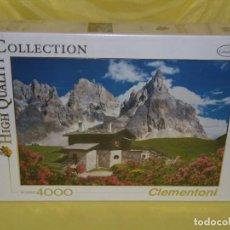 Puzzles: PUZZLE 4000 PIEZAS DE CLEMENTONI, DOLOMITES, NUEVO SIN ABRIR, PRECINTADO. Lote 153645766
