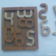 Puzzles: ANTIGUO Y RARO JUEGO DE MESA DE MADERA : UN PUZZLE. Lote 153832674