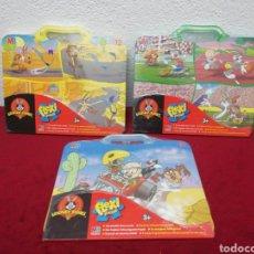 Puzzles: LOTE DE 3 FLEXI PUZZLES. LOONEY TUNES. Lote 154768168