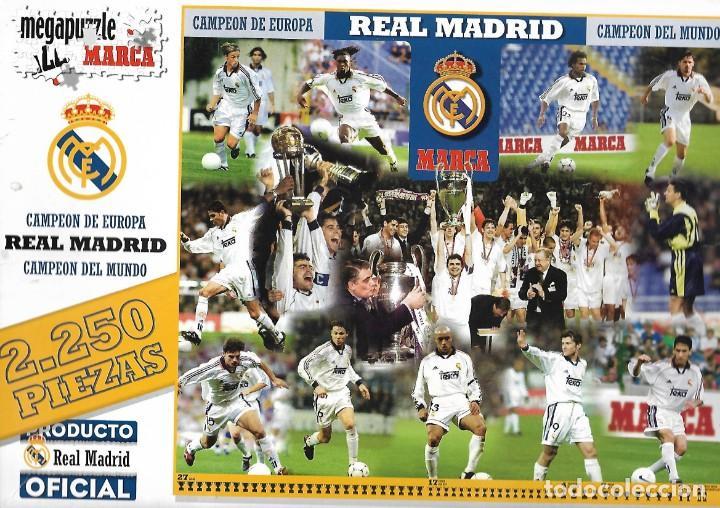 Puzle Real Madrid Campeón De Europa Y Del Mund Comprar Puzzles Antiguos En Todocoleccion 187101353